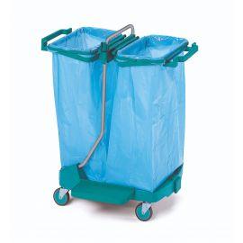 Reinigungswagen Doppel - Müllsack Wagen TOP EVOLUTION VI Müllsack 120 Liter