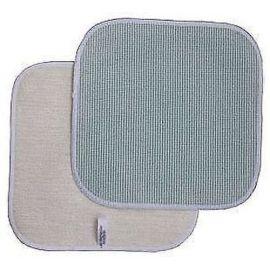 Microfaser Spültuch KITCHENGOLD 22x22 cm   Bürste Viskose Geschirr abspülen Küche kratzfrei