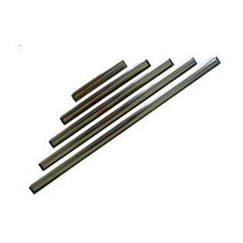 Aluminium Ersatz Schiene mit Gummi
